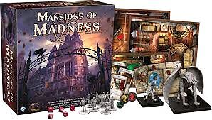 Mansions of madness 2nd ed. Board game w expansion Cambridge Kitchener Area image 1