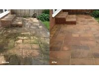 Driveways,patios,decking,paths cleaning