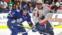 Leafs Tickets Golds  116 vs Ovechkins Capitals this Sat