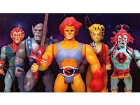 VINTAGE TOYS WANTED, I WILL BUY YOUR TOY COLLECTION FOR CASH, 1980S, 1970S, CASH PAID