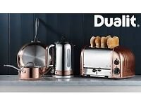 Brand New Dualit four slot toaster chrome/copper (RRP £199)