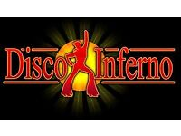 DISCO INFERNO. THE 70'S & 80'S DISCO SPECIALIST