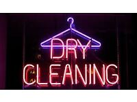 2 x Dry Cleaner Shops for sale, T/0 250 K. Birmingham Area, Good Location - No Competition