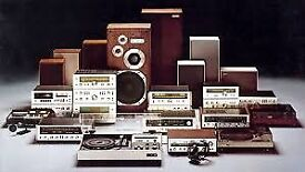 Wanted - Hi-Fi, Turntables, Speakers, Amplifiers, ALL audio equipment for cash!