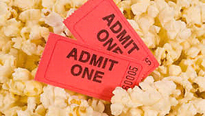 2 Movie Theater Gift Cards Value $ 20 each