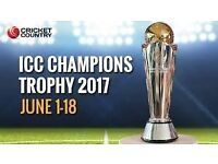 """THE FINAL"" of ICC Champions Trophy @ The Oval on Sunday 18th June, 4 x GOLD TKTS, Seated Together"