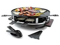 Brand New Raclette Grill, never been used. Boxed and in perfect cond. Cost over £100