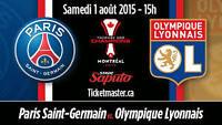 Billets PSG - LYON Trophée des chamions 2015