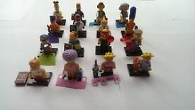Lego Simpsons series 2 collectible minifigures