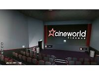 Looking for friends who love cinema ! I have an unlimited Cineworld card