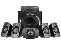 Logitech Z-906 5.1 Surround Sound Speakers Home Theatre Cinema THX BOXED NEW