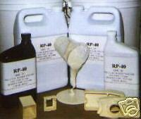 * Plastic Casting Resin for Resin Casting in Silicone Rubber Molds (2 gallons)
