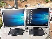 """HP L1940T 19"""" LCD MONITOR - VGA & DVI PORT"""