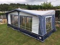 Full Dorema Sirocco Awning size 10 with annexe and inner tent