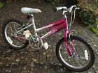 Pink Raleigh Krush bike suit 5-8 year old girl