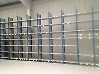JOB LOT 500 BAYS dexion impex industrial shelving 4.8m high ( storage , pallet racking )