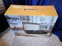 BUSH portable turntable record player new and cheap as i have overstock