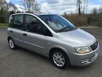 ★2005 Fiat Multipla 1.9 Diesel JTD Eleganza Mpv Low mileage ★7 seater galaxy c max s max Kia Sorento