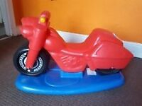 Little tikes rocker and ride on scooter