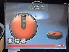 BRAND NEW! Unopen! Black MIELE Scout RX1 - SJQL0- Robot Vacuum