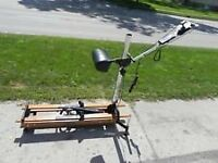 NordicTrack ski-machine cross-trainer, excellent condition