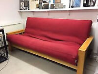 Very comfortable Futon Company bed settee / sofe / couch