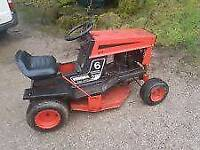 Ride on mower wanted