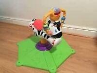 Bounce & Spin Zebra