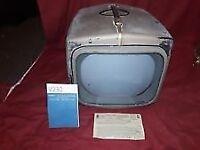 antique valve television