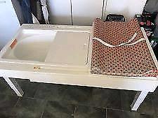Little bear overbath baby change table $100