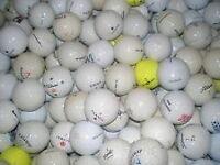 100 mix golfballs