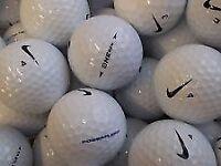 40 mix nike golfballs