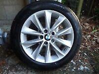 BMW X3 / X4 original winter wheels and tires