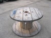 Wooden cable reel / spool