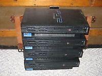 4x PS2 Consoles