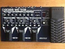 BOSS ME-50B multi effects pedalboard (bass)
