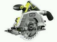 Brand new ryobi circular saw with battery and charger dewalt makita