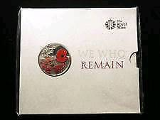 £5 poppy ALDERNEY bu coin pack