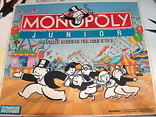 Monopoly Junior 1990 edition (Parker Brothers) (NEW)