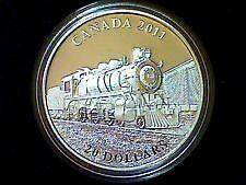 Piece de 20$ en argent 2011 'D-10 Locomotive'  1oz .9999