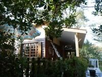 MONTALIVET by the sea, France NATURIST Prestige bungalow to rent CHM.