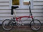 Brompton m3l folding bicycle for sale Quick Sale