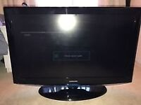 """40"""" SAMSUNG LCD TV FREEVIEW HD VERY GOOD CONDITION GRAEAT WORKING ORDER CAN DELIVER BARGAIN"""