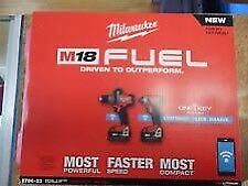 NEW MILWAUKEE M18 FUEL HAMMERDRILL & IMPACT COMBO KIT