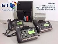 BT-Versatility-V8-Telephone-System-including-6-phones
