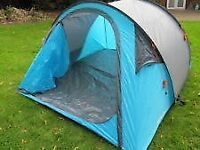 4 person pop up tent. Used twice