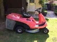 Honda 1211 ride on lawnmower mower, ready for work.
