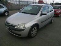 Vauxhall corsa c low miles