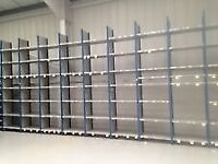 JOB-LOT 500 BAYS dexion impex industrial shelving 4.8m high! ( storage, pallet racking )