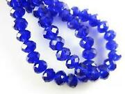 Crystal Rondelle Spacer Beads